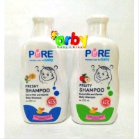 Purebaby SHAMPOO - Shampoo SEHAT Bayi - 230ml