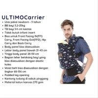 CuddleMe Ultimo Carrier Gendongan Hipseat Bayi Ergonomis