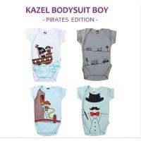 KAZEL Bodysuit 4IN1 - PIRATES - Jumper Bayi