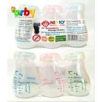 Ninio Botol Penyimpanan ASI - Botol ASI Plastik 3in1 - 120ml