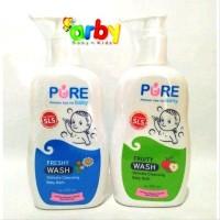 PUREBABY WASH 2in1 - Sabun & Shampoo Bayi - 230ml