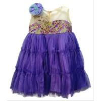 Dress Anak 3 Tahun Mardi Ungu Tutu