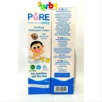 Purebaby Soothing Moisturizer Cream 100gr-Untuk Kulit Kering Sensitive