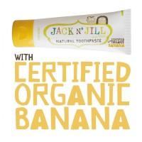 Jack n Jill Banana Toothpaste (Odol Bayi Organik Rasa Pisang) - 50g