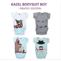 KAZEL Bodysuit 4IN1 - Pirates & 40 Jumper Bayi& 41