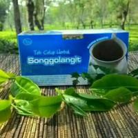 obat herbal khasiat ampuh teh songgolangit original tazakka