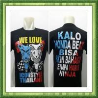 SL Kaos beat we love hitam bendera motor beat thailook