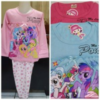 Baju Tidur Little Pony N Friends Unit Laris