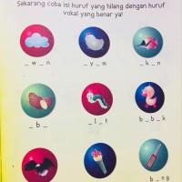 Buku Anak Membaca Menulis Menghitung Mewarnai stok terbatas