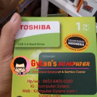 Harddisk hdd External Toshiba 1tb tera Original Garansi Resmi