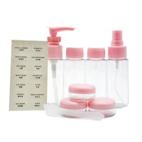 7 in 1 Travel Kit Set Bottle