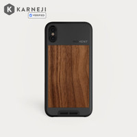 Moment Lens Photo Case for Iphone X Original Walnut / Black Premium