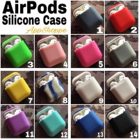 Apple Airpods Silicone Case Protective Cover Pouch Terlaris-