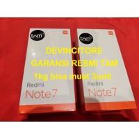 GARANSI RESMI Xiaomi Redmi Note 7 TAM 4/64 RAM 4GB 64GB SEGEL 4 64 GB