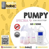 Sewa pompa asi / breast pump Spectra 9+ plus (1 bulan)