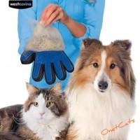 Sarung tangan grooming pembersih bulu kucing,anjing