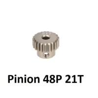 Pinion Gear Allumunium 48P 21T for rc cars
