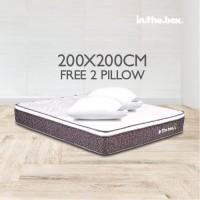 INTHEBOX X SUPER KING 200X200 KASUR SPRING BED inthebox X