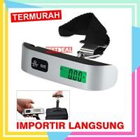 Timbangan Travel / Koper Digital Tas Bagasi 50kg Luggage Scale Gantung