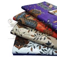 Batik Mega Mendung Merah, Kain Batik Cirebon, Kain Jarik, Batik