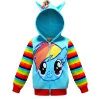 Jaket Anak My Little Pony Rainbowdash JA-11