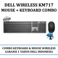 Dell Premier Wireless Keyboard and Mouse KM717 Combo Keyboard + Mouse