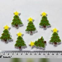 Hiasan Flanel Pohon Natal Mini