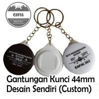 Gantungan Kunci Custom / Pin Gantungan Kunci / Pin Seminar / Souvenir