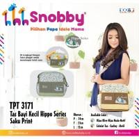 Tas Bayi Kecil Snobby Hippo Saku Print TPT 3171