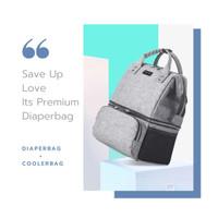 COMBO BAG COOLING DIAPER BAG SAVE UP LOVE ORIGINAL 2IN1