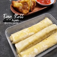 egg roll ayam - egg chicken roll