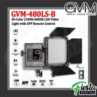 GVM 480LS-B Bi Color LED Studio Video Camera Light with APP Remote