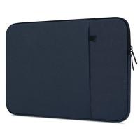 Tas Laptop / Softcase Nylon Waterproof 14 inch Sleeve Case - dark blue