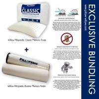 Bantal Classic dan Guling Memory Foam Set
