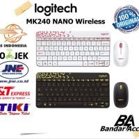 logitech mk240 nano wireless combo keyboard - mous SXfx16630