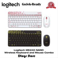 Logitech MK240 NANO Colorful Wireless Combo Mouse SXfx16632