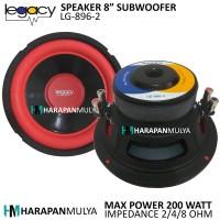 """Speaker Subwoofer 8"""" / Subwofer 8 inch Legacy LG-896-2 [200 Watt]"""