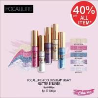 (READY JKT!) Focallure 4 Colors Beam Heavy Glitter Eyeliner FA46 FA 46 - Galaxy