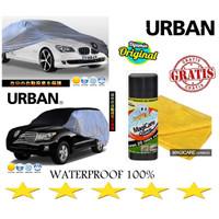 Cover Mobil Urban Sarung TERIOS RUSH TRD CHEVROLET SPIN GRATIS CHAMOIS - SILVER