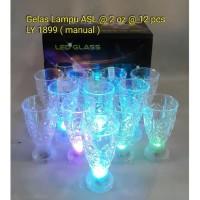 Gelas Ajaib / Gelas Lampu Led Sensor Air