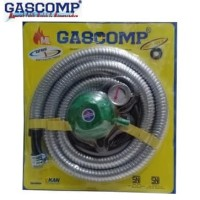 GASCOMP Selang Paket Regulator Meter GRT-924E