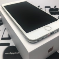iphone 7 plus 128gb silver second fullset mulus ex inter