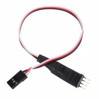 Modul Panel LED Flash dan ON Off melalui Transmitter Remote RC Mobil