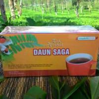 obat herbal khasiat ampuh dengan teh daun saga original griya herba