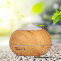 Wooden Humidifier Diffuser LED Aromatherapy
