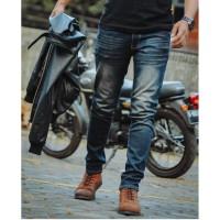 celana jeans polos pria thinbrown / celana jeans skinny cowok murah