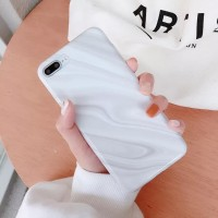 Soft Case iPhone 6/6Plus/7/7Plus/X/Xs/XR/XMax CREAM WHITE MARBLE CASE