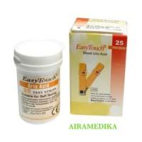 EasyTouch Uric Acid Alat Test Stik Strip Asam Urat Refill Easy Touch