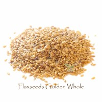 Flaxseeds Golden Whole 225 gram