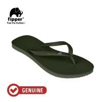 Fipper Glitter / Sandal Jepit Wanita / Green Army